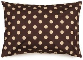 Față de pernă 4Home Buline Ciocolată, 50 x 70 cm, 50 x 70 cm