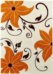 Covor Think Rugs Verona, 60 x 120 cm, bej - portocaliu