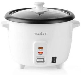 Aparat de gătit orez 400W/230V 1l Nedis KARC10WT