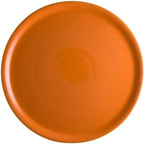 Farfurie din porțelan pentru pizza Brandani Pizza, ⌀ 31 cm, portocaliu