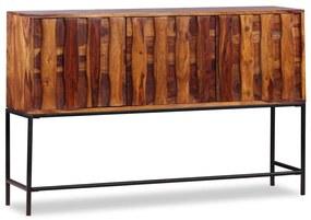 244345 vidaXL Servantă din lemn masiv de palisandru, 120 x 30 x 80 cm