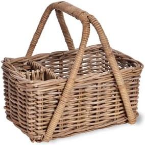 Coș din ratan pentru picnic Garden Trading Bembridge Picnic Basket