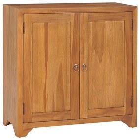 320776 vidaXL Dulap, 70 x 30 x 70 cm, lemn masiv de tec