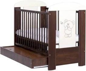Patut pentru copii Bear cu sertar Wenge
