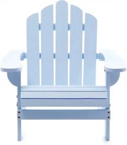 Scaun pentru copii din lemn de cedru Adirondack Kids Albastru pastel