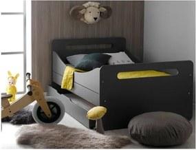 Sertar pentru pat pentru copii JUNIOR Provence Féroe, gri antracit