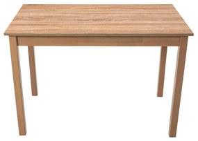Masa living MAX2 S, sonoma, 110 x 60 x 76 cm, lemn masiv de pal/fag