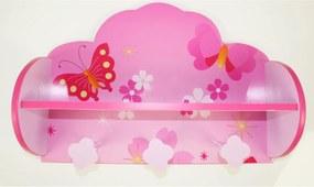 copii raft cu un cuier motýlci