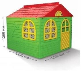 MyKids - Casuta de joaca  02550/3 Green/Red - Mid