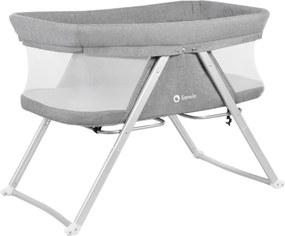 Lionelo - Patut pliant 90x50 cm Vera Grey