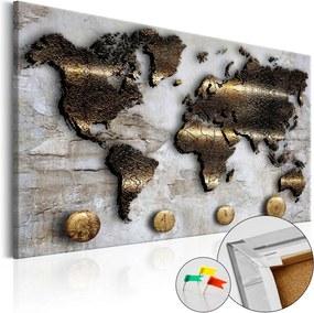 Tablou din plută - Golden Journey 120x80 cm