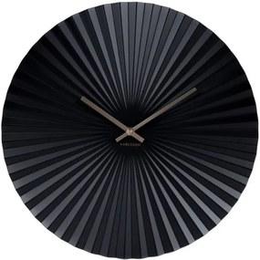 Ceas Karlsson Sensu, Ø 40 cm, negru