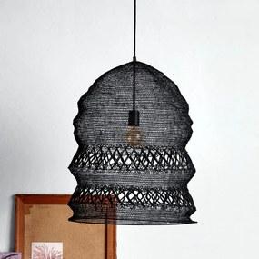 Lampa Pliabila Neagra - Metal Negru Diametru (50 cm) x Inaltime (62 cm)