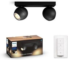 Philips 50472/30/P6 - LED Lampă spot dimmabilă Hue BUCKRAM 2xGU10/5W/230V