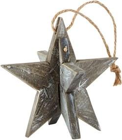 Decorațiune suspendată KJ collection Star Shine, 10 cm