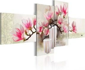 Tablou - Fragrance of magnolias 100x45 cm