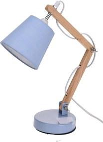 Veioză Koopman Pastel tones, albastru, 45 cm