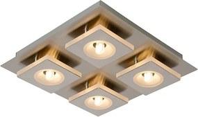Lucide AUDI LED 26191/12/12 Plafoniere cu spoturi crom mat crom mat LED - 4 x G9 max. 2,5W 5,8 x 26 x 28 cm