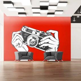 Fototapet Bimago - Say cheese! + Adeziv gratuit 350x270  cm
