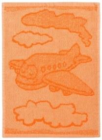 Prosop copii Plane orange, 30 x 50 cm