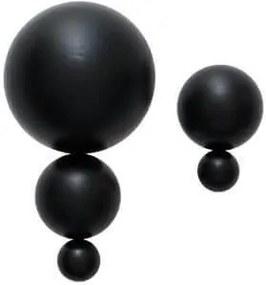 Cuier Negru din Lemn L - Lemn Negru Inaltime(12.6 cm) L(7 cm) W(10 cm)