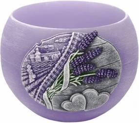 Lumânare decorativă Lavender Kiss lampion