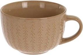 Cana Lines din ceramica crem 7 cm