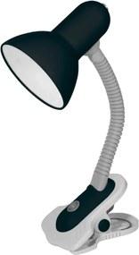 Kanlux Suzi 7151 Lămpi de masă cu clemă negru metal 1 x E27 max. 60W IP20