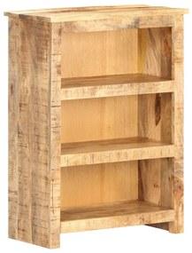 320191 vidaXL Bibliotecă, 59 x 30 x 80 cm, lemn mango nefinisat