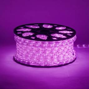 decoLED LED tub furtun 50 m, roz