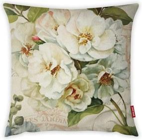 Față de pernă Vitaus Pure Flower, 43 x 43 cm