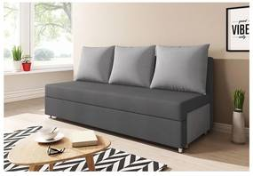 Canapea tapițată LISA, gri+gri deschis (alova 48/alova 10) Expedo