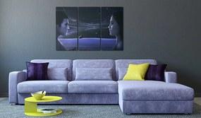 Bimago Tablou - Magnetic gaze - triptych 60x40 cm