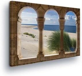 GLIX Tablou - Beach view 100x75 cm