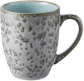 Cană din ceramică și glazură interioară albastru deshis Bitz Mensa, 300 ml, gri