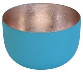 Suport pentru lumanare bleu