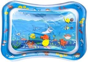 Covor saltea cu apa, centru de activitati pentru bebelusi, 60x45 cm, multicolor