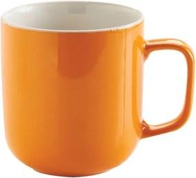 Cană ceramică Price&Kensington Hot, portocaliu
