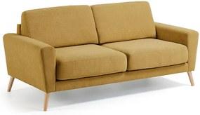 Canapea galben mustar pentru 3 persoane Guy La Forma