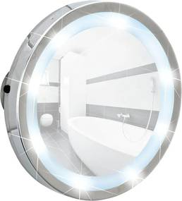 Oglindă pe LED cu ventuze Wenko Mosso