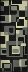 Covor Hanse Home Hamla Retro, 80 x 150 cm, negru