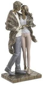 Figurina decor din rasina Couple 12 cm x 26 cm