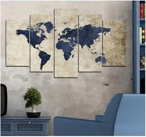 Tablou din mai multe piese Insigne Malika, 102 x 60 cm