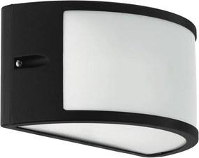 Eglo 34001 - Aplică perete exterior LED CATAMARCA LED/10W/230V IP54 negru