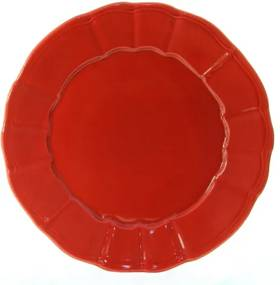 Platou Delicacy Bordo din ceramica 32 cm