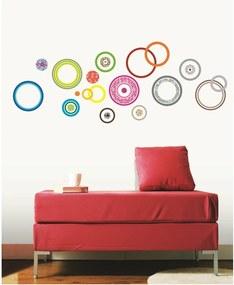 Set autocolante Ambiance Colorful Bubbles