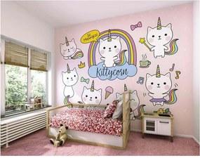 ohpopsi Fototapeta - Kittycorn 350x280 cm