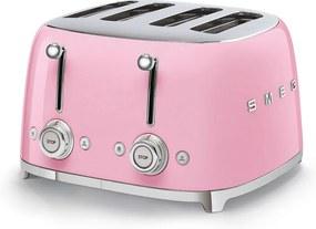 Toaster roz 50's Retro Style P4 2000W - SMEG