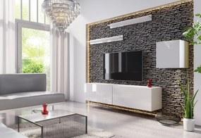 Expedo Mobilă sufragerie ELPASO 16, alb/alb luciu