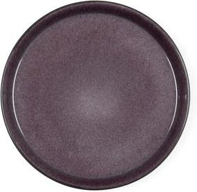 Farfurie adâncă din ceramică Bitz Mensa, diametru 27 cm, violet prună